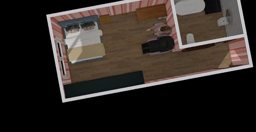green room Interior Design Render