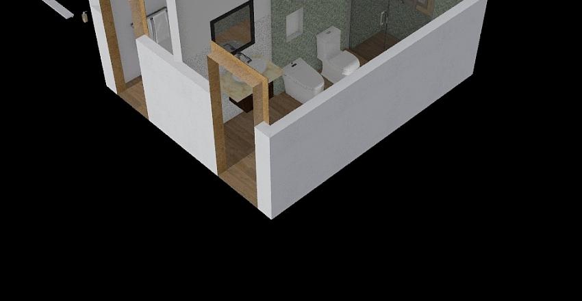 Bagno di servizio Interior Design Render