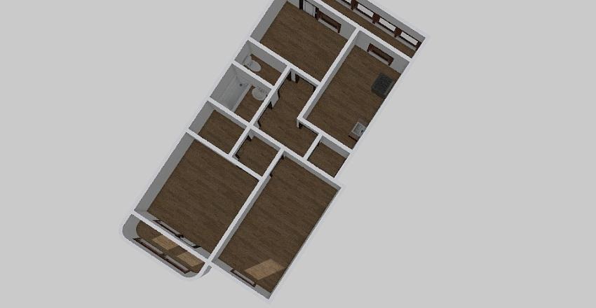 3-комн_0178_1 Interior Design Render