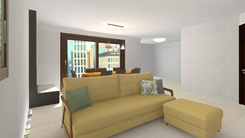 AppartamentoModelloBase Interior Design Render