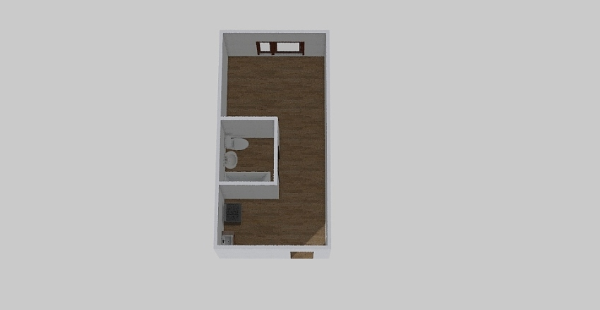 1-комн_0372 Interior Design Render