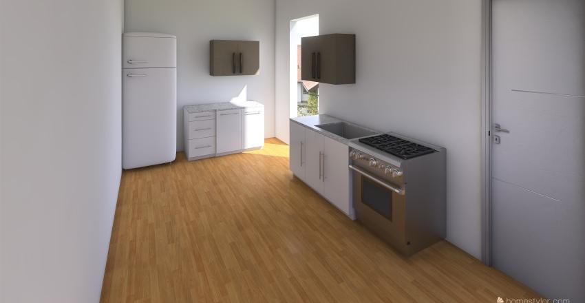 Kuchyn Interior Design Render