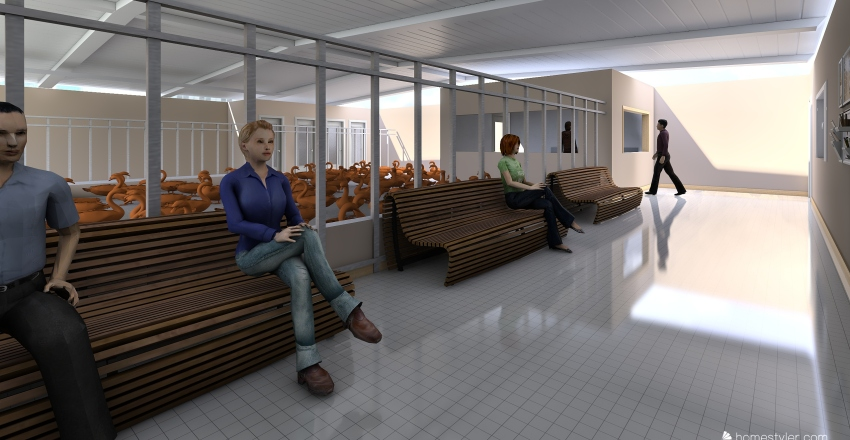 Tio Betinho Interior Design Render