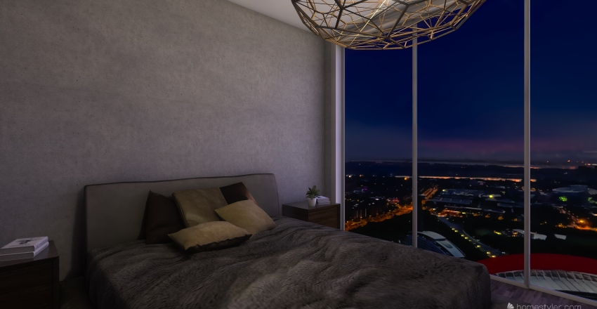 apartment 29 Interior Design Render