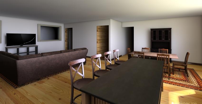 The Donnell Homestead Interior Design Render