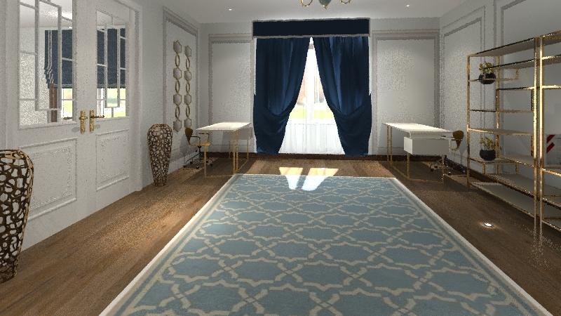 تصميم الخياطة  Interior Design Render