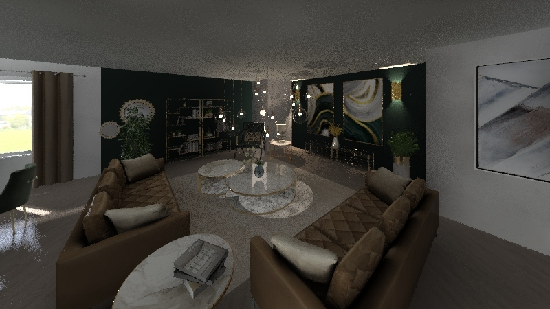kolor - pokój marzeń Interior Design Render