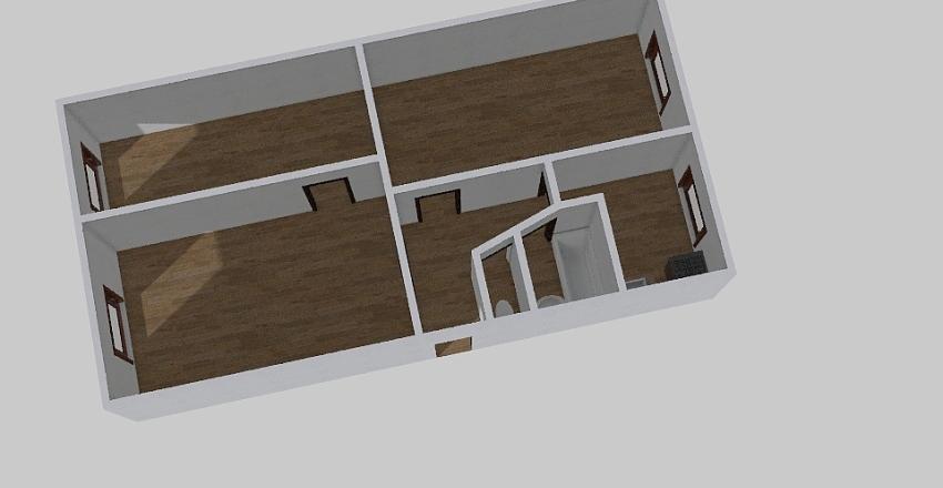 2-комн_0345 Interior Design Render