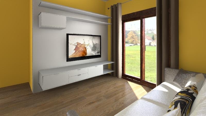 Salotto AN Interior Design Render
