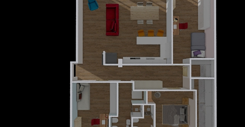 tedesco 3  Interior Design Render
