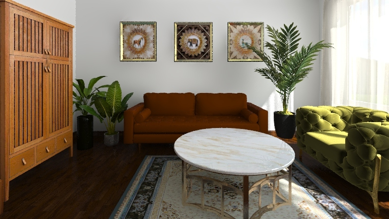 Iwo house Interior Design Render