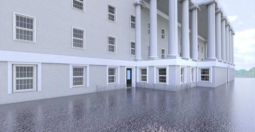 Regency Exterior Interior Design Render