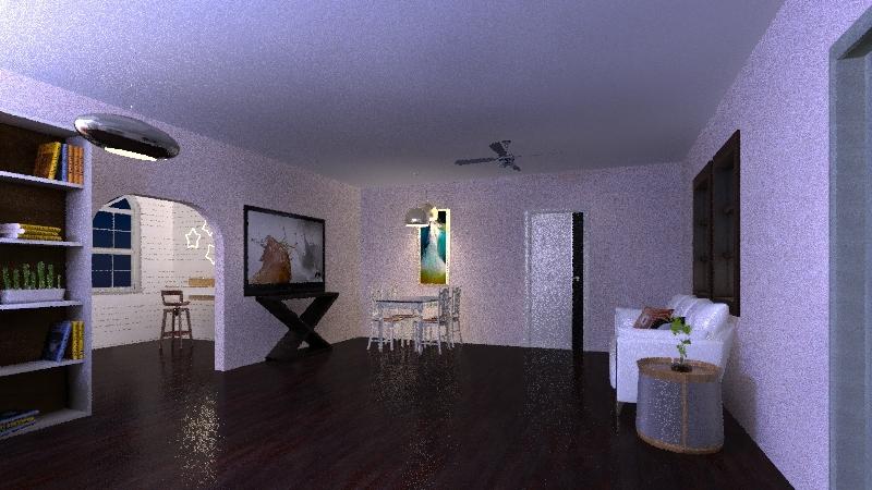 The House  Interior Design Render