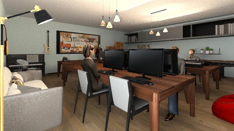 CIME Interior Design Render
