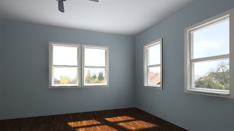 purple room Interior Design Render