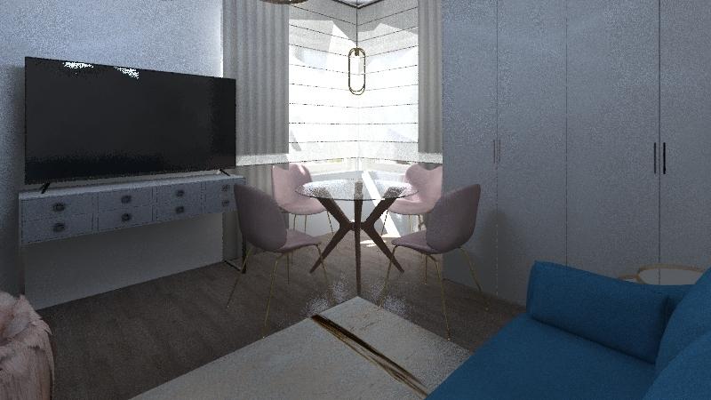 Краснопутиловская Interior Design Render