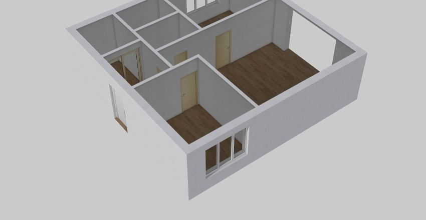 дом для молодой семьи Interior Design Render