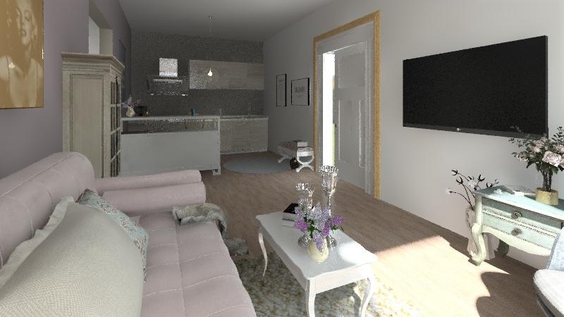 Provence little dream Interior Design Render