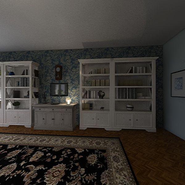 5 rooms Interior Design Render