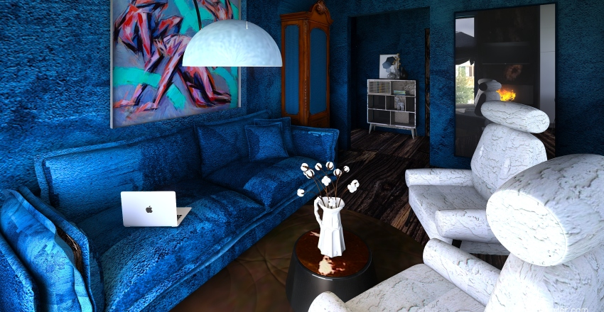Space for two Interior Design Render