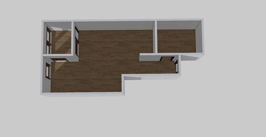 1-комн_0373 Interior Design Render