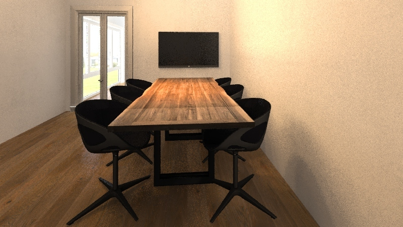ufficio nuovo Interior Design Render