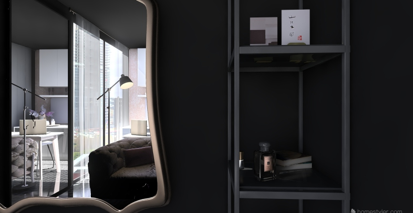 Live and learn Interior Design Render