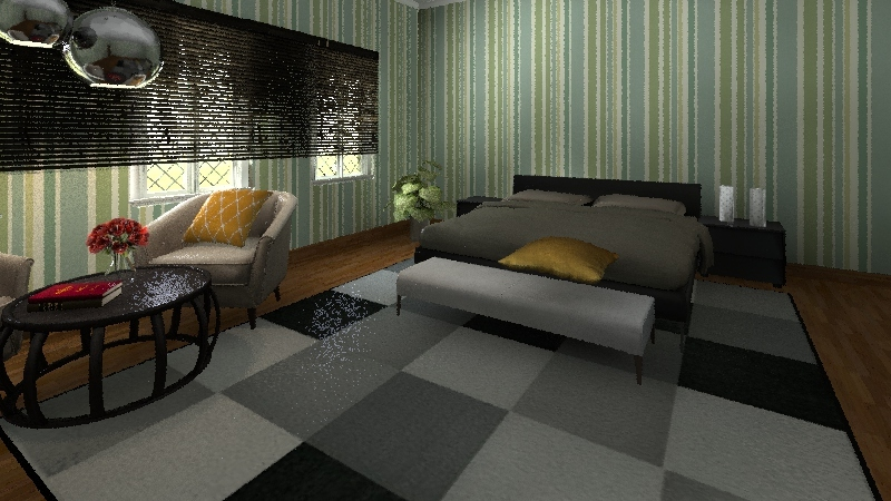 Cool Beach Interior Design Render