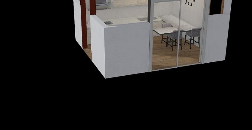 casa muffoletto Interior Design Render