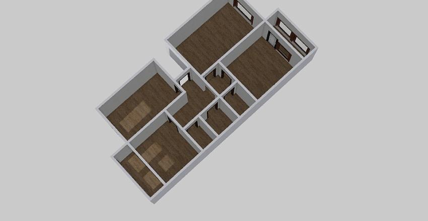 3-комн_0178_2 Interior Design Render