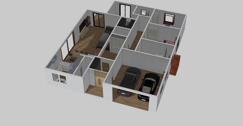 Kolorowa 13  z piwnica 3 Interior Design Render