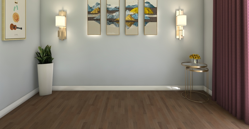 sala-3 Interior Design Render