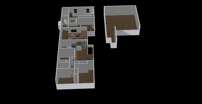 Home add Interior Design Render