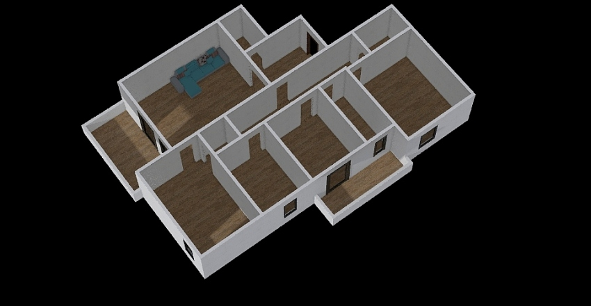 163046 pescara Interior Design Render