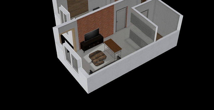 Gdansk Interior Design Render