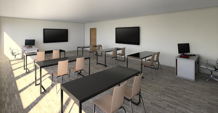 Immaculate Conception Second Floor Interior Design Render