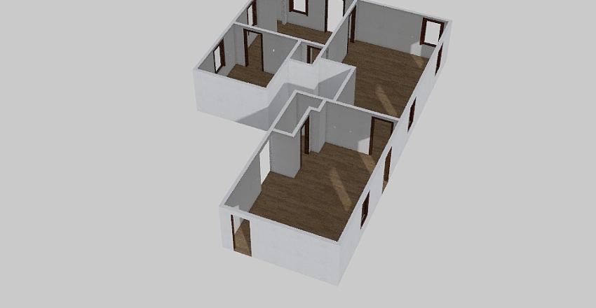 FLV_Kitchen Template  Interior Design Render