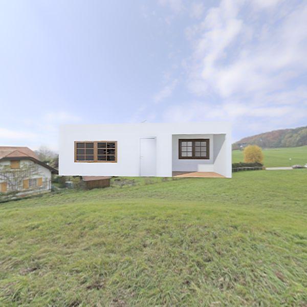 casa alpino antes Interior Design Render