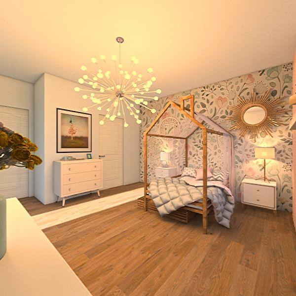 Caitlin's Bedroom Interior Design Render