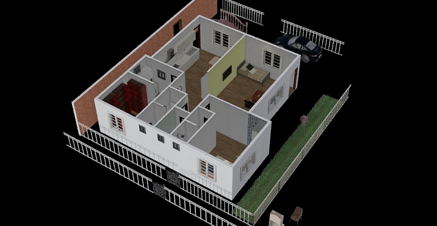 Dabha3.7 Interior Design Render