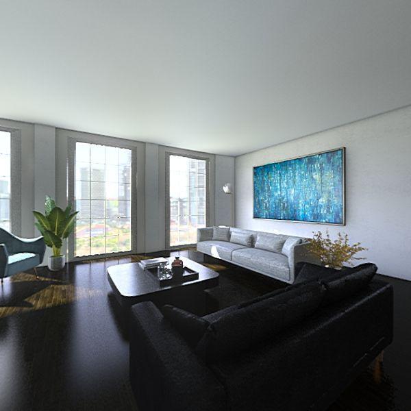 furniture arrangement  Interior Design Render
