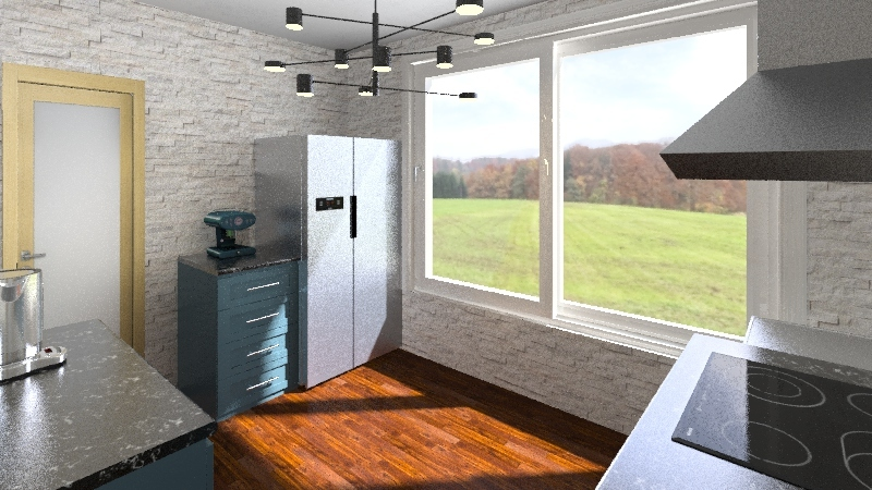 Daisy's design  Interior Design Render