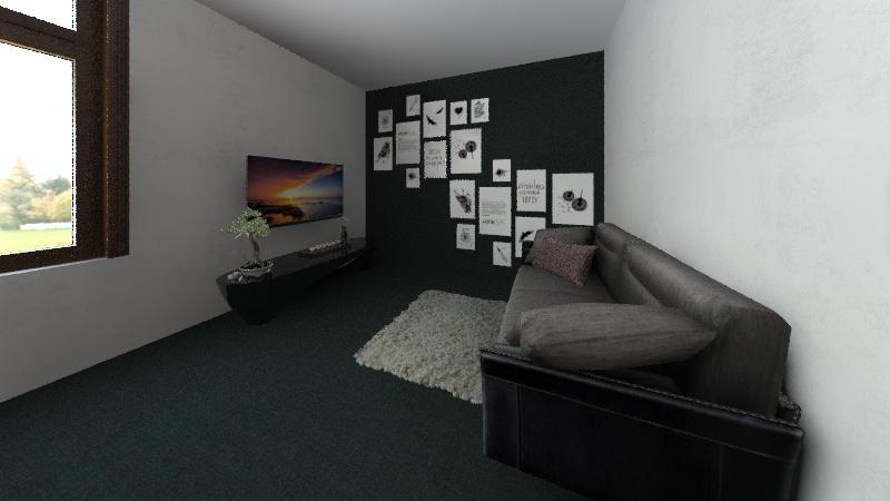 My Living room Interior Design Render