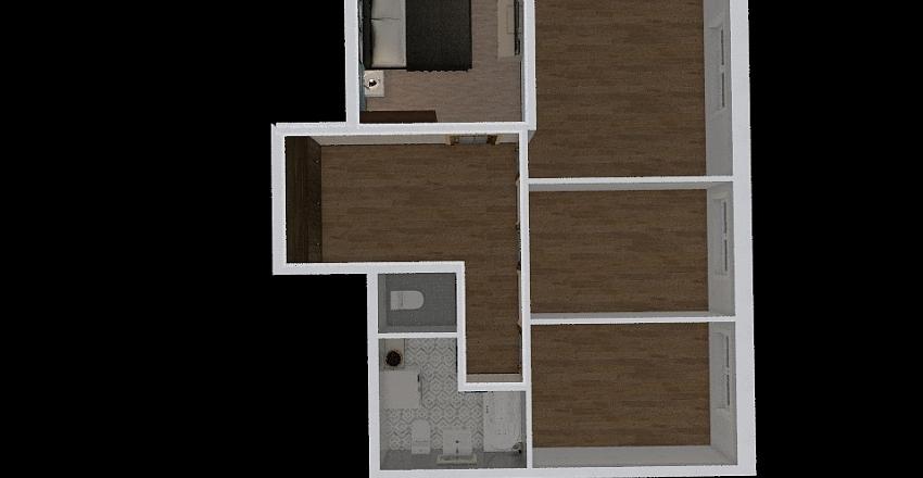 квартира 2 Interior Design Render