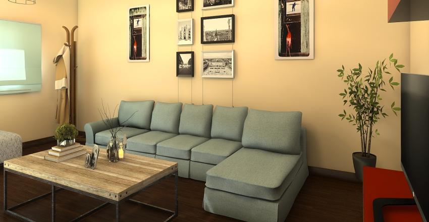 Living_Antonella5 Interior Design Render