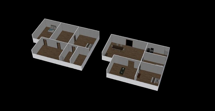 1st project Interior Design Render