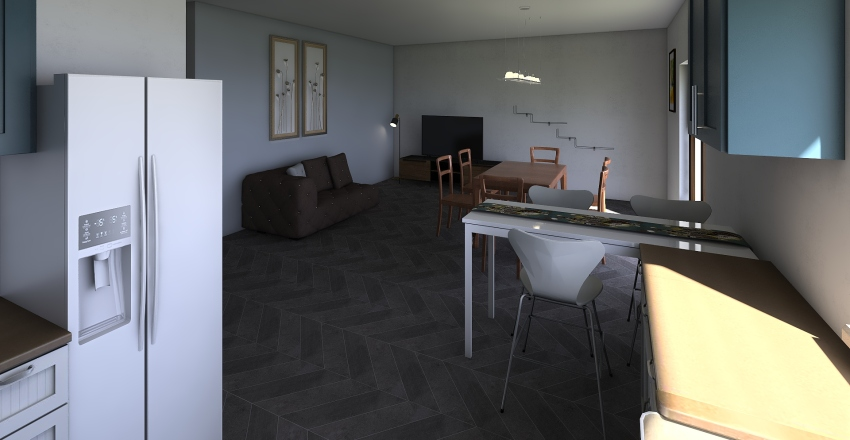 Piano Terra v2 Interior Design Render