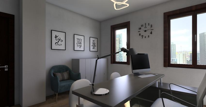 Office AB Interior Design Render