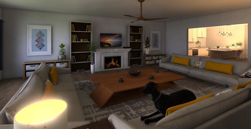 Art Project Interior Design Render