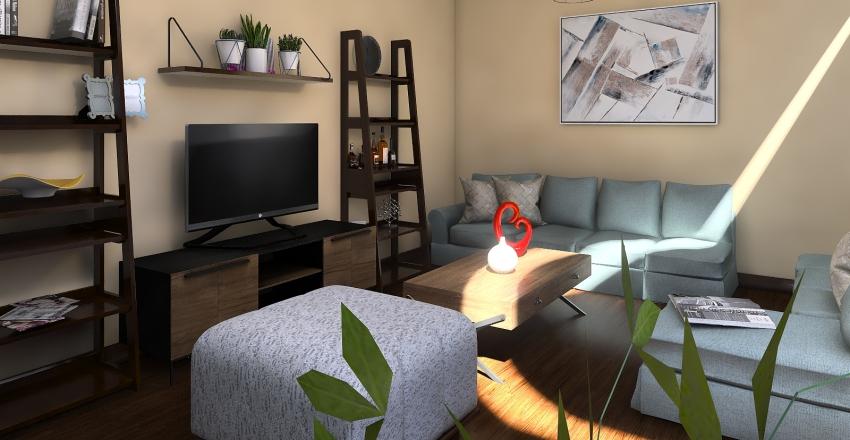 Living_Antonella Interior Design Render